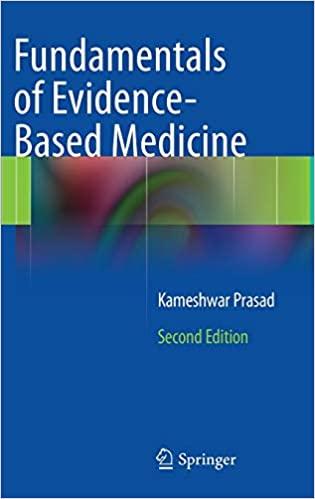 Fundamentals of evidence-based medicine